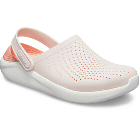 Crocs LiteRide Clogs, barely pink/white
